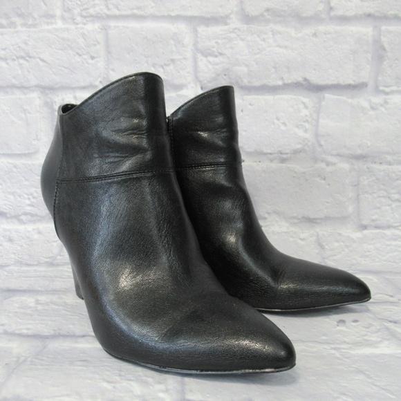 ea0bb6579 ... Wedge Black Ankle Boot. Nine West. M_5b997efd6a0bb7baa30d2c21.  M_5b997efec89e1d7963f614cc. M_5b997efec61777a6ed9dc6ec.  M_5b997efe2e1478881b720bed